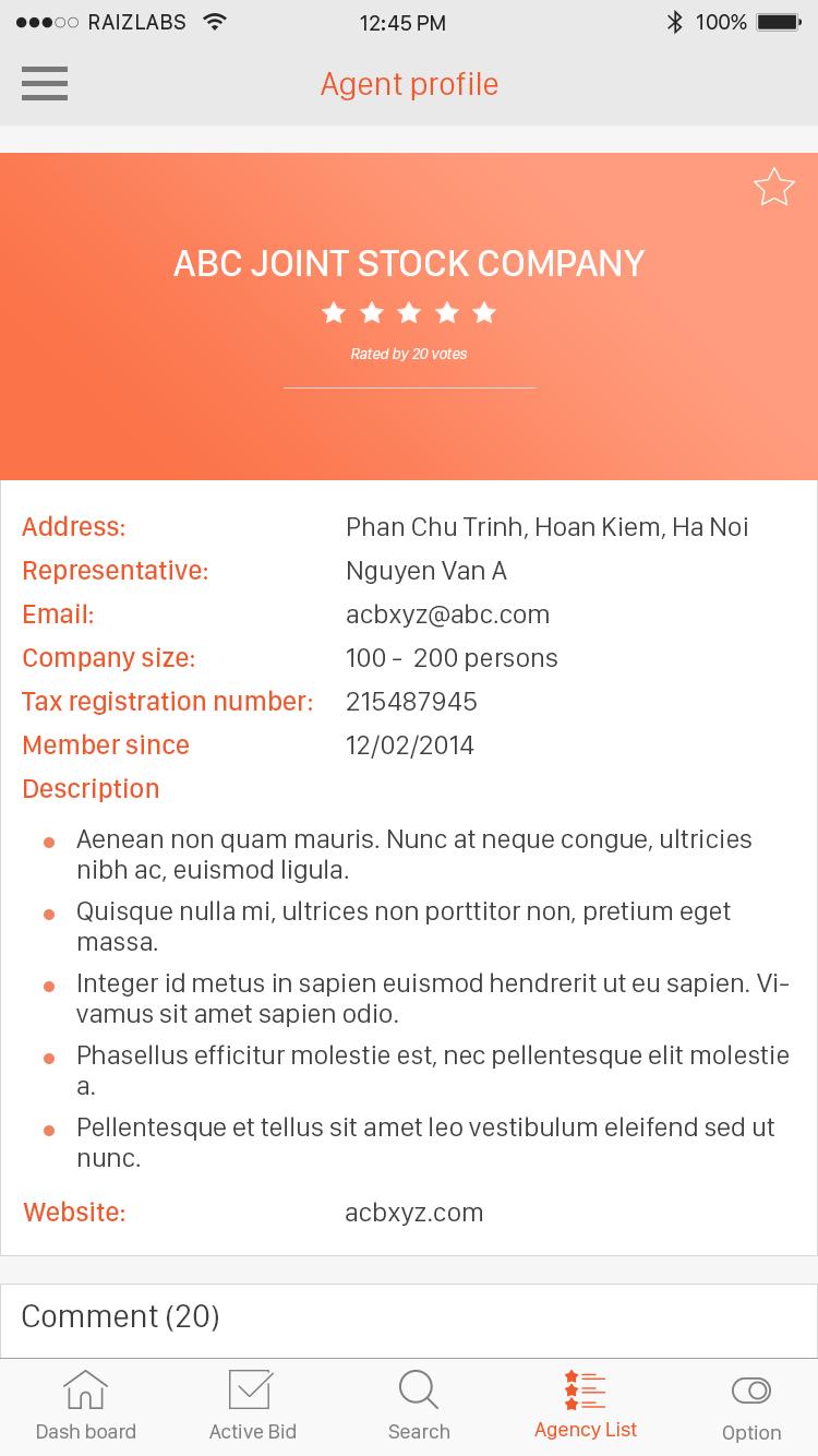 13.1.agent profile